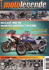 MOTO LEGENDE 237 DUCATI 900 SS MARTIN HONDA CBK 750 NSU Coupe KAWASAKI 1972