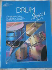 LIVRE PARTITION BATTERIE - DRUMS SESSIONS BOOK 2 - Peter O'Gorman -