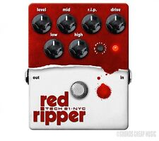 Tech 21 Red Ripper Distortion Bass Pedal - New! Free Gift!