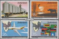 zimbabwe 340-343 (complete issue) unmounted mint / never hinged 1986 Conference