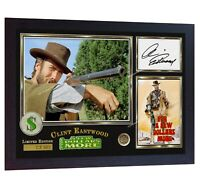 Clint Eastwood signed autograph For a Few Dollars More photo print Framed
