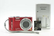 Panasonic Lumix DMC-ZS7 12.1MP Digital Camera w/12X Zoom Red                #179