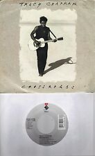 TRACY CHAPMAN  Crossroads / Born To Fight 45 with PicSleeve