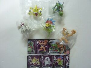 DIGIMON CAPSULE MASCOT COLLECTION 1 TO 3 INCH GASHAPON FIGURE VER 7.0 SET BANDAI