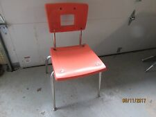 Good used Vintage American Seating Mid Century Modern Student Chairs Good shape