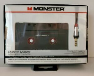 Monster iCarPlay 800 Cassette Adapter - iPod, iPhone, Android -