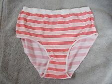 Striped Seamless Secret Treasures Intimate Brief Panties S 5 NWT Polyester Blend