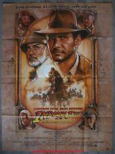 INDIANA JONES ET LA DERNIERE CROISADE Affiche Cinéma 160x120 Movie Poster