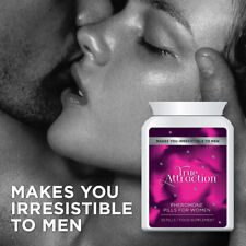 TRUE ATTRACTION PHEROMONE PILLS FOR WOMEN – MAKE SEXY MEN HORNY FOR YOU