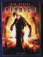 The Chronicles of Riddick (DVD, 2004, Full Frame) - D1015