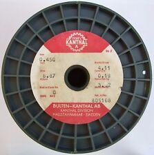 Kanthal A 0,45mm 8,87 Ω/m, Original Widerstandsdraht Heizdraht, 3-20 Meter