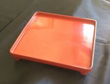 Antique Japanese Red Lacquerware Display Tray