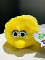 New 2019 Sesame Street 50th Anniversary Stackable Big Bird Plush Toy FACTORY