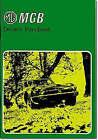 MG MGB Driver's Handbook Part No Akm3661, R. M. Clarke,  Paperback