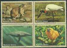 Timbres Animaux Nations Unies Genève 265/8 ** lot 12841