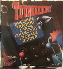 Thunderbirds Cards Inc 2001 Official binder Gerry Anderson