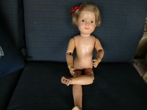 "19"" Antique Schoenhut Dolly Face Doll"