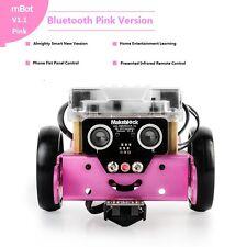 Makeblock DIY Mbot V1.1 Educational Robot Kit Building(Pink Bluetooth Version)