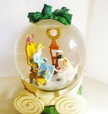 "Disney Cinderella Glass Slipper Carriage Snow Globe-Music Box, ""So This Is Love"""