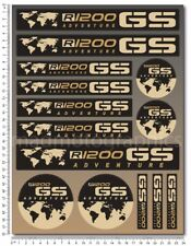 BMW R1200GS Adventure motorcycle decals 14 stickers r1200 GS Laminated set