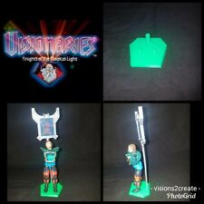 Visionaries knights of the magical light action figure stands display toys set