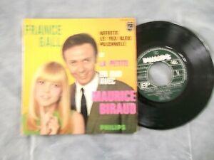 RARE EP 45 TOURS FRANCE GALL MAURICE BIRAUD ORIGINAL REF 437317 BON ETAT