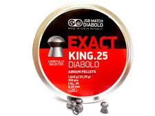 JSB Exact King .25   .25 cal, 25.39 gr, 350 pcs