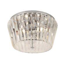Tiara 3Flammige Deckenbünidge Lampe, Chrome avec Cristal Chrome/Big.light