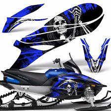 Yamaha APEX Decal Wrap Graphic Kit RTX GT MTX LTX Sled Snowmobile 14-16 REAP BLU