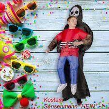 Aufblasbares Kostüm Sensemann Karneval Halloween Karneval Fasching unisex