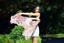 100% SILK Scarf Eco Lifestyle Fashion Yoga natural Skincare Beauty Muslim Hijab
