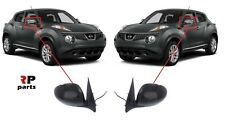 FOR NISSAN JUKE 2010 - 2014 NEW WING MIRROR ELECTRIC 3 PIN PRIMED PAIR SET