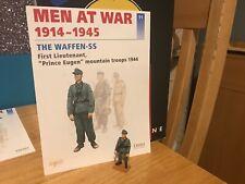 Del Prado Men at War 1914-1945, #11, Waffen SS, 1st Lt Prince Eugen, 44 fig/book
