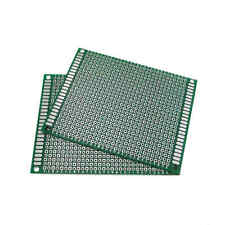 10pcs Double Side Protoboard Circuit Universal Diy Prototype Pcb Board 7cmx9cm