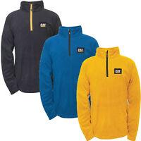 Caterpillar Cat® apparel Concord Mens Pull-Over Work Fleece 1/4 Zip Sweatshirt