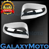Triple Chrome Mirror Cover w/Turn Signal Model for 2016-2019 16-19 TOYOTA TACOMA