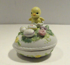 George Good Egg and Chick Trinket / Jewelry Box