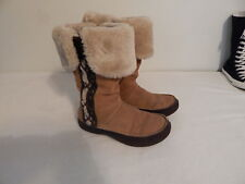 Womens Snow Winter boots Size 6.5 Brown The North Face  Warm