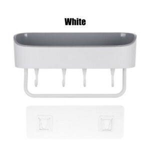 Bathroom Punch-free Shelf Plastic Accessories Shower Gel Shampoo Storage Holder