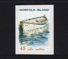 2001 Norfolk Island Local Boats - Self Adhesive 45c Stamp