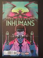 The UNCANNY INHUMANS #7 (2016 Marvel Comics) VF/NM Comic Book