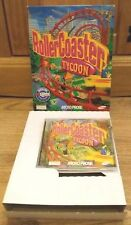 Rollercoaster Tycoon PC Game. Big Box. Missing Instruction Manual