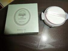 Etude House~Precious Mineral Magic Any Cushion + Refill~Magic Mint~SPF 34~New