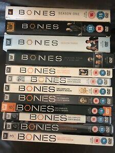 Bones Seasons 1 2 3 4 5 6 7 8 9 10 11 12 DVD Boxsets Choose From List