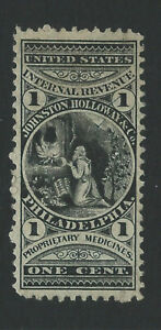 Bigjake: RS151b, 1 cent Johnston Holloway & Co. - Match & Medicine