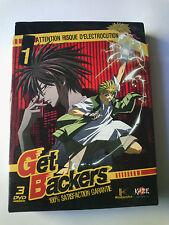 GET BACKERS COFFRET 1 - 3 DVD - DVD PAL