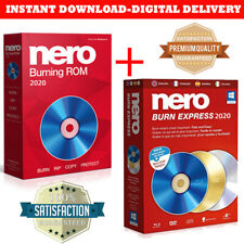 Nero Burning ROM & Nero Express 2020 Portable Edition Quick & Easy to Install
