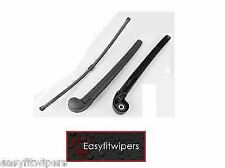 Seat Leon Mk1 Rear Back Wiper Arm With Blade and Cap Upgrade to Flat Areo Style