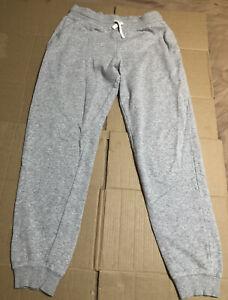 More Mile Brushed Fleece Boys Joggers Grey Stylish Kids Sweatpants Ages 7-14