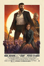 "Logan 2017 Movie Poster Wolverine 3 X-Men Marvel Silk Repro Print 19x14"" - NEW"